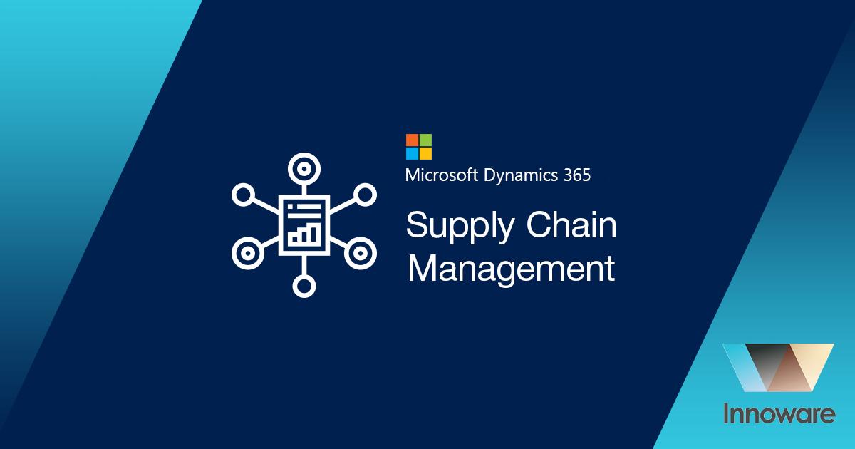 Мicrosoft Dynamics 365 Supply Chain Management